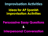 AP Spanish Persuassive Essay Ideas | AP  Diaries | Interpe