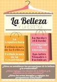 AP Spanish Language & Culture Poster - La Belleza y la Estetica