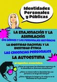 AP Spanish Language & Culture Poster - Las Identidades Personales y Publicas