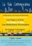 AP Spanish Language & Culture Poster - La Vida Contemporanea