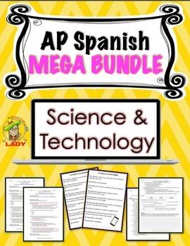 AP Spanish - Science & Technology - MEGA BUNDLE