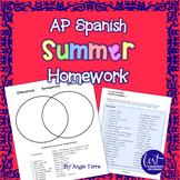 AP Spanish Summer Homework