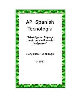AP Spanish Technology  WhatsAPP