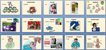 AP Spanish Vocabulary Powerpoint:  La salud