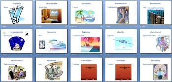AP Spanish -  Vocabulary Powerpoint  - El turismo