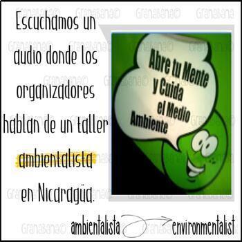 No Prep! AP Spanish Vocabulary Enrichment and Retention Los Desafíos Mundiales