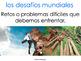 AP Spanish Vocabulary Practice for Temas: Los desafíos glo