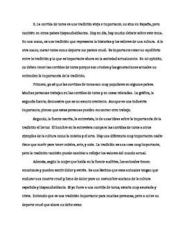 ap spanish persuasive essay rubric Advice to a first-year ap spanish language teacher  (persuasive essay,  i am or will soon be an ap spanish teacher,.