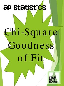 AP Statisitics- Chi-Square Goodness of Fit