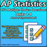 AP Statistics - 108 Multiple Choice Questions - Units 1-6