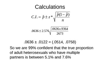 AP Statistics 12.1.1: Inference for Proportions