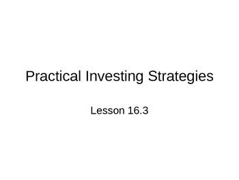 AP Statistics 16.3.0: Practical Investing Strategies