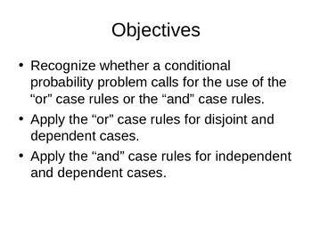AP Statistics 06.3.1: Conditional Probability