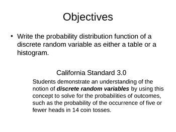 AP Statistics 07.1.1: Discrete Random Variables