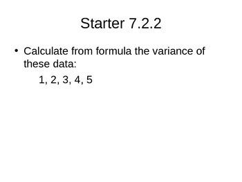 AP Statistics 07.2.2: The Variance of Random Variables