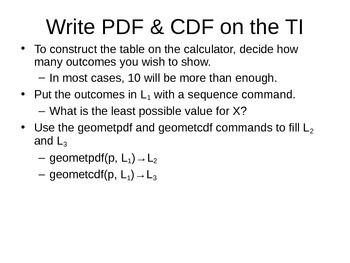 AP Statistics 08.2.1: The Geometric Distribution