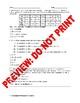 AP Statistics Assessment: Dependent & Independent Variables