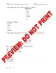 AP Statistics Assessment: Stemplots