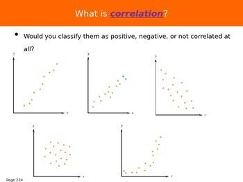 AP Statistics Chapter 5 - Summarizing Bivariate Data