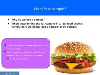 AP Statistics Chapter 8 - Sampling Variability and Sampling Distributions