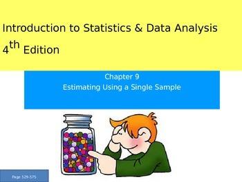 AP Statistics Chapter 9 - Estimation Using a Single Sample