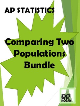 AP Statistics - Comparing Two Populations Bundle (Growing Bundle)
