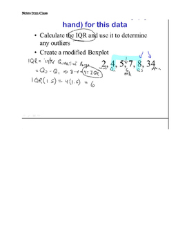 AP Statistics Stats Describe Display Distributions with tests,quizzes,keys,notes