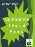 AP Statistics- Chapter 8 Bundle: Confidence Intervals
