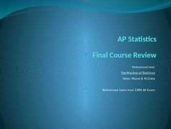 AP Statistics Course Review with Practice Items (Version A)