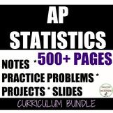 AP Statistics Curriculum MEGA Bundle growing UPDATED