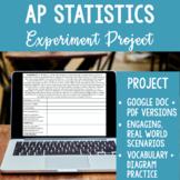 AP Statistics Experimental Design Analysis Project
