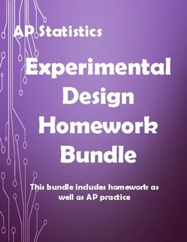 AP-Statistics Experimental Design Homework Bundle