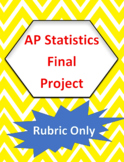 AP Statistics Final Project Rubric
