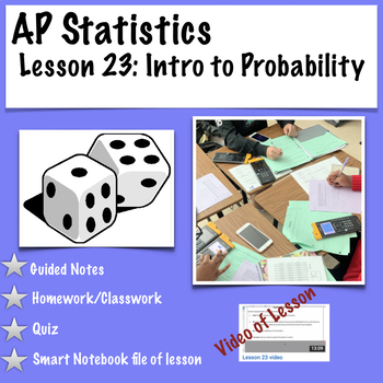 AP Statistics. Introduction to Probability (with video of lesson)