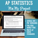 AP Statistics M&M Sampling Distribution Project - Works for Distance Learning!