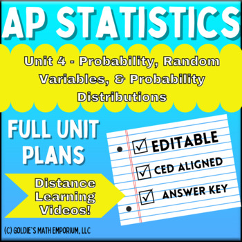 AP Statistics - Probability Unit