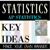AP Statistics Review Make your own banner!