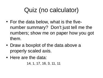AP Statistics 01.2.2: Standard Deviation
