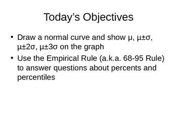 AP Statistics 02.1.2: Normal Distributions