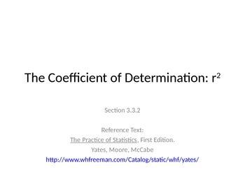 AP Statistics 03.3.2: The Coefficient of Determination: r^2