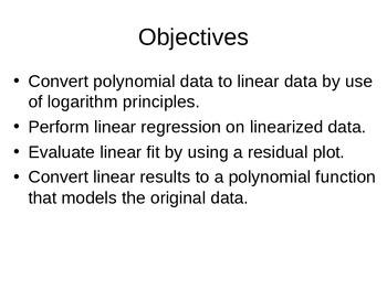 AP Statistics 04.1.3: Polynomial Regression