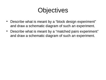 AP Statistics 05.2.3: Block Design and Matched Pairs Design