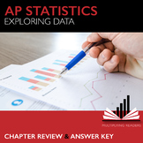 AP Statistics Stats Exploring Data Chapter Review and Answer Key