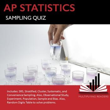 AP Statistics Stats Sampling and Randomness Quiz