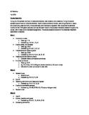 AP Statistics Syllabus