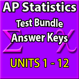 AP Statistics Test Bundle - Answer Keys