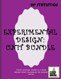 AP Statistics- Unit 1 Bundled: Experimental Design (Growin