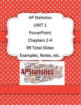 AP Stats Unit 1 (Chapters 2-4) 99 SLIDES!