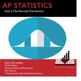 AP Statistics Stats Unit 2: Normal Distribution Bundle