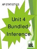 AP Statistics - Unit 4 Bundled: Inference (Growing Bundle)